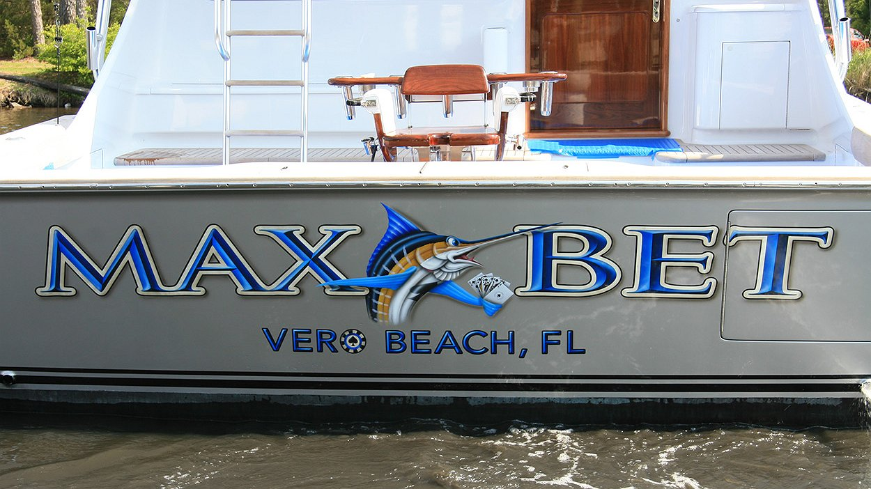 Max bet vero beach florida boat transom boats transom for Custom transom